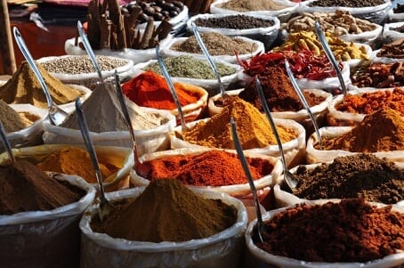 5) Asia's Largest Wholesale Spice Market