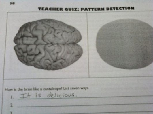 funny test answers given by kids