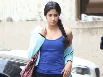 Jhanvi Kapoor looks stylish in her gym avatar