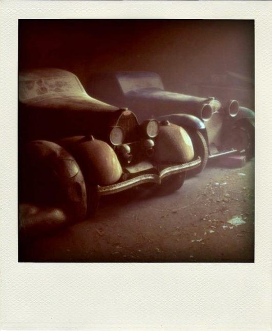 Forgotten Bugattis