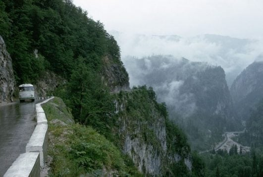 'Caucasus' road, Russia