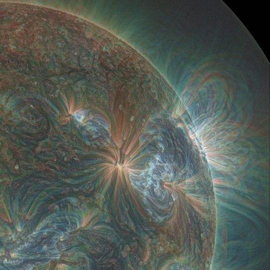 Ultraviolet Sun picture