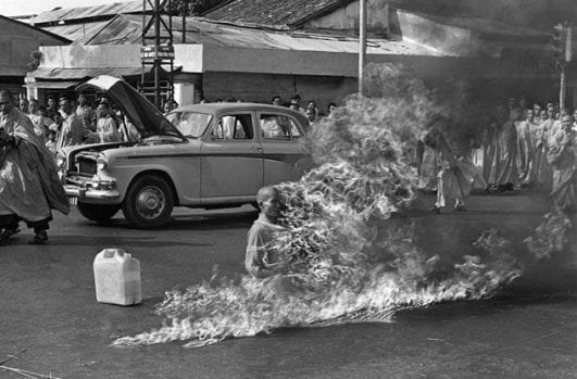 The Burning Monk — 1963