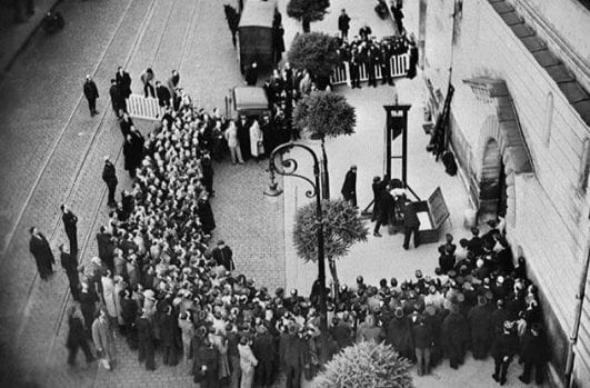The Last Public Execution By Guillotine — 1939