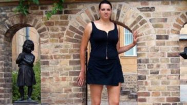 Caroline Welz is the Top 10 Tallest Women In The World