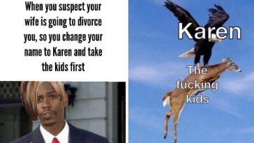 Karen meme Karen stealing her kids