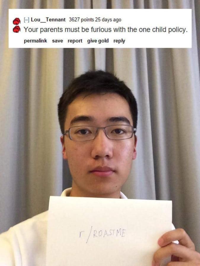 best of reddit roast me to laugh at