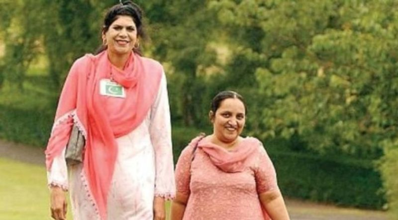 zainab bibi is the Top 10 Tallest Women In The World