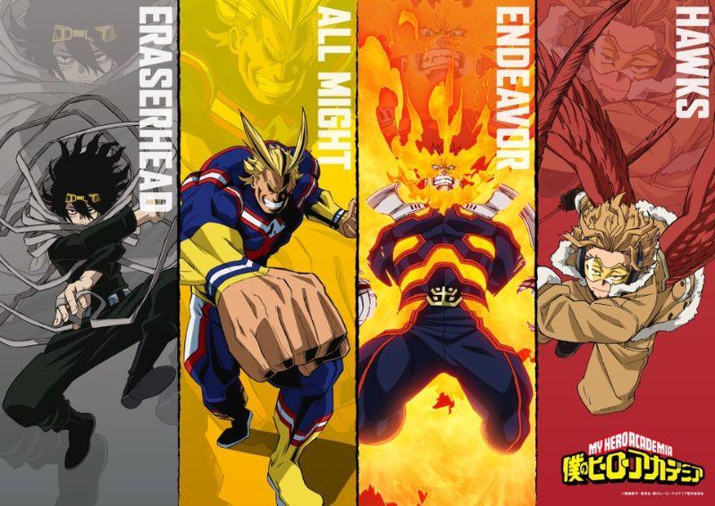 Boki No hero Academia (My Hero Academia) Season 5 New Visual
