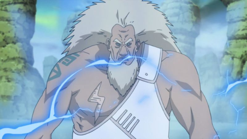 3rd Raikage is one of the Strongest Naruto anime Characters