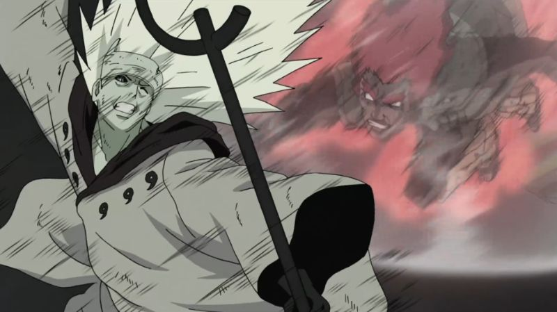 Is might guy stronger than Madara