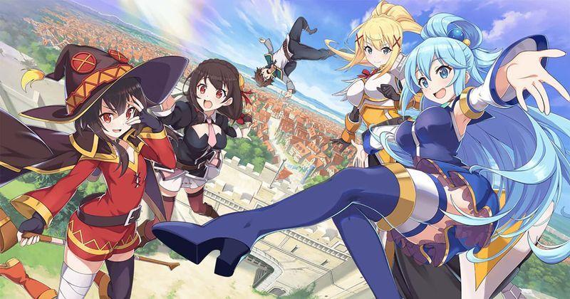KonoSuba is an Popular Light Novels that Began as Free Web Novels