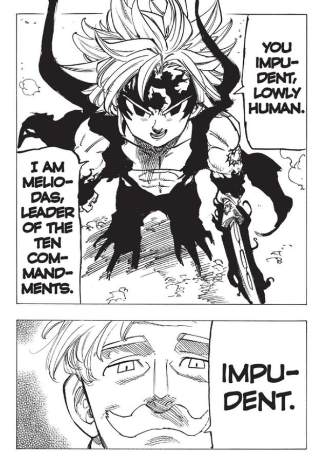 Meliodas Power Assault mode Appearance