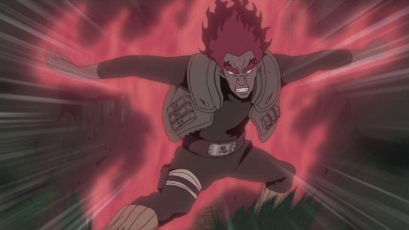 Might Guy vs Madara Uchiha (Ten-Tail)