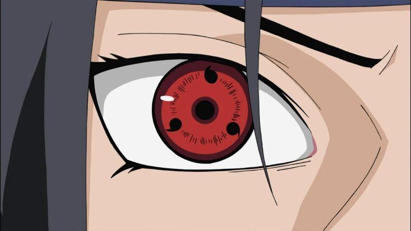 Sharingan Eye Powers in the Naruto Universe