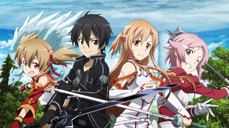 Sword Art Online is an Popular Light Novels that Began as Free Web Novels