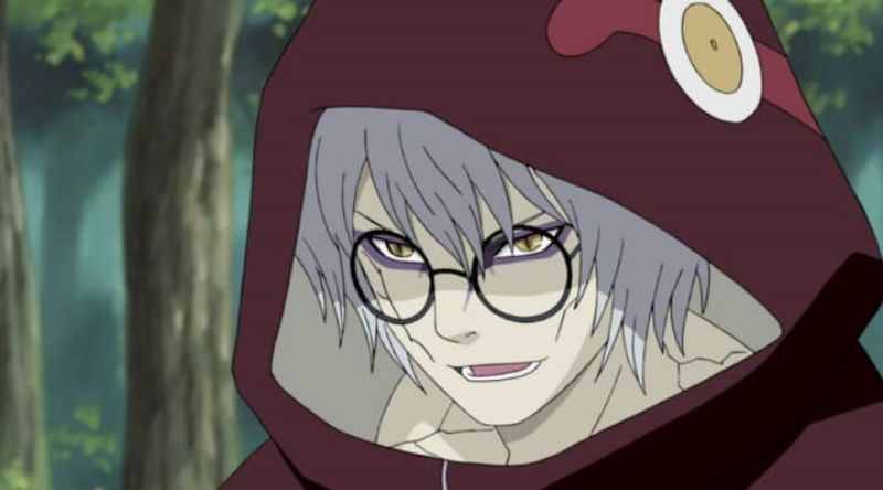 kabuto is one of the Strongest Naruto anime Characters