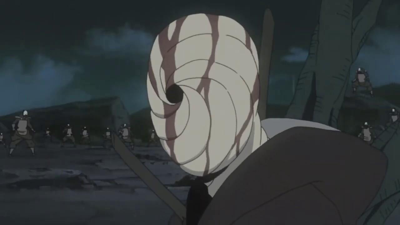 obito uchiha and hidden mist shinobi fight