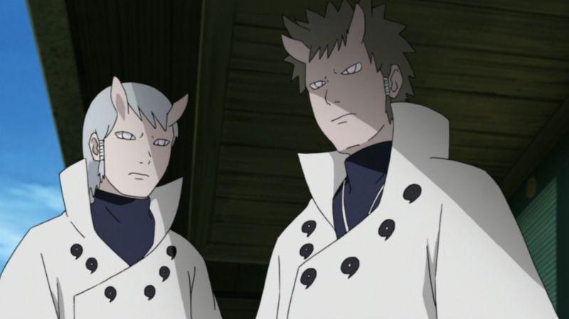 Hagoromo and Hamura Otsutsuski