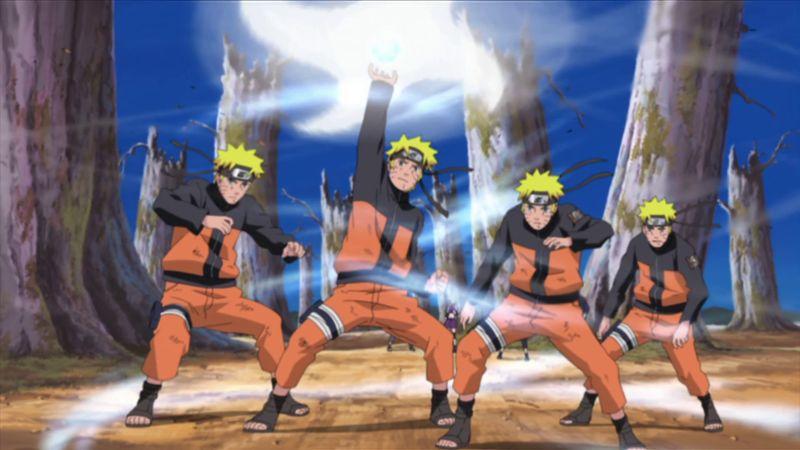 Naruto Uzumaki perfected Rasengan