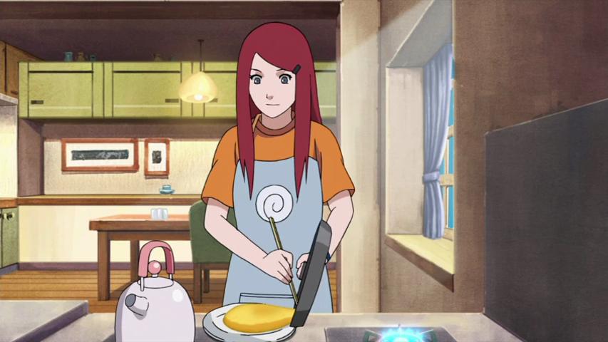 Kushina Uzumaki cooking