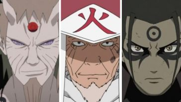 Who are the 3 God of Shinobi in Naruto series