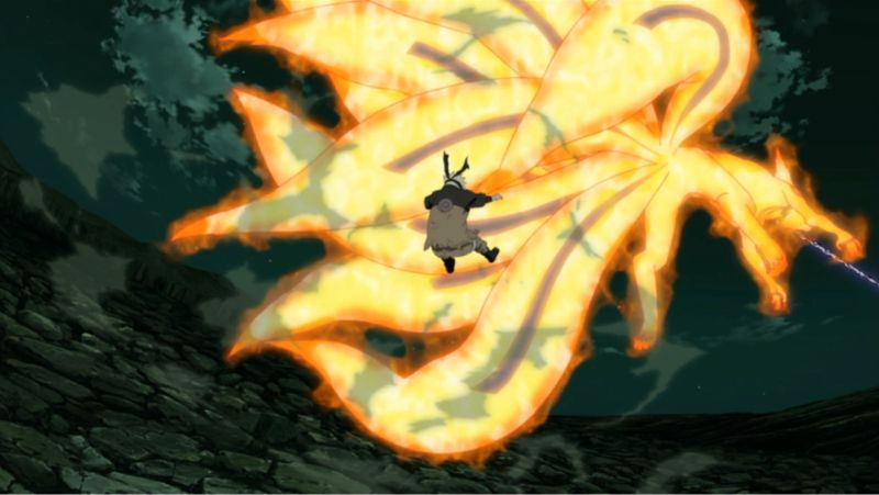 naruto 9 tails extracted
