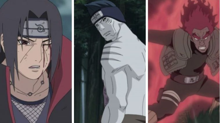 Top 10 Naruto Characters Who Are Tailed Beast Level